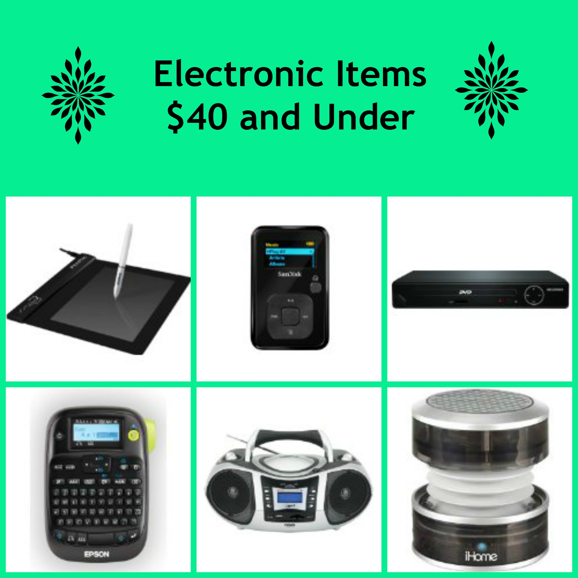Electronics Under $40 - BB Product Reviews