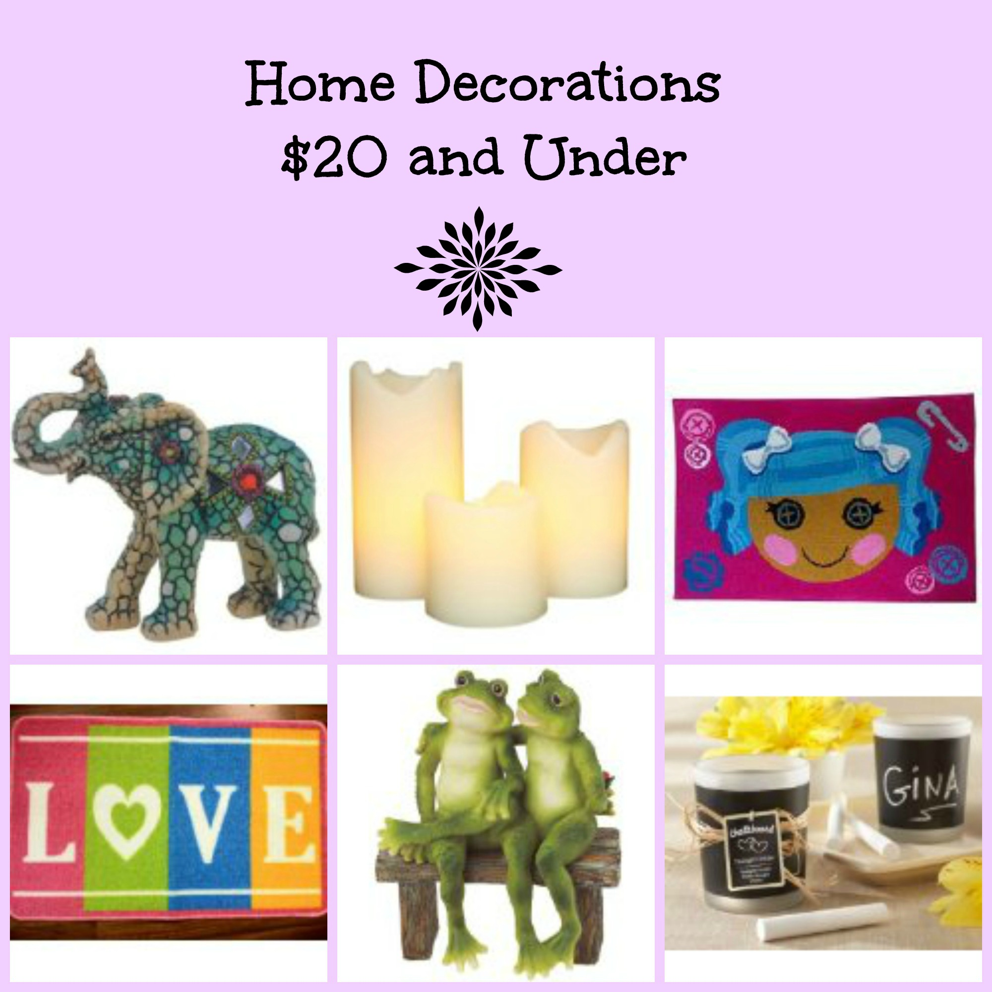 Home Decorations 20 And Under Bb Product Reviews