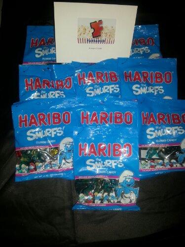 Haribo Smurfs gummi candy