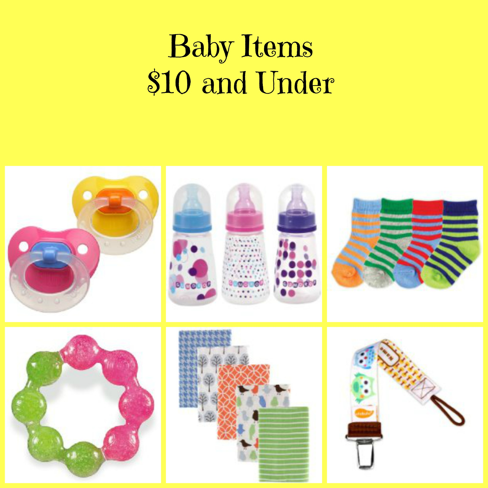 Baby Items Under 10 Bucks! - BB Product Reviews