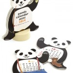 Year of the Critter 2014 Mini Calendar in Panda