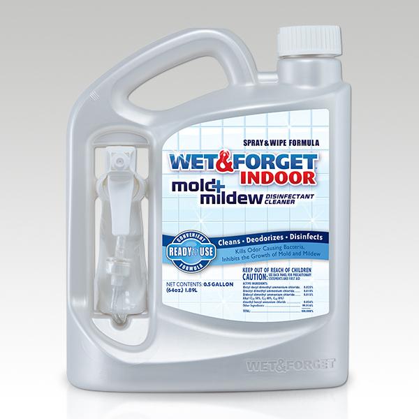 Wet & Forget Indoor Mold + Mildew Disinfectant Cleaner