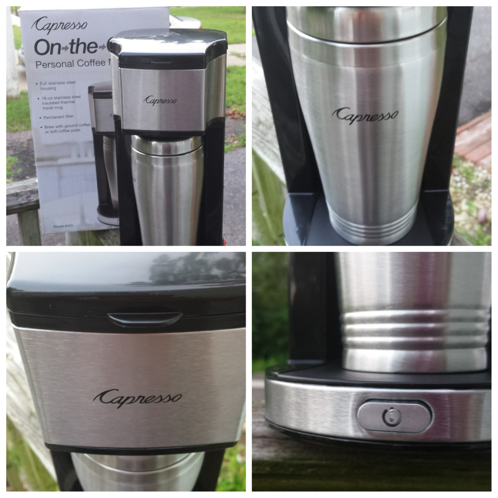 Coffee Maker On The Go : Capresso On-the-Go Personal Coffee Maker for #Back2School - BB Product Reviews