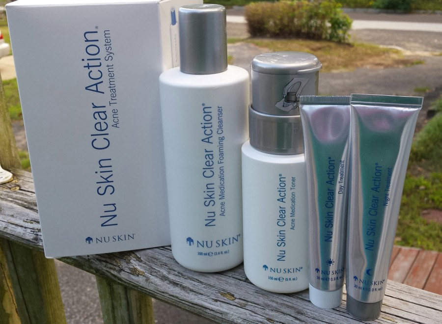 Help Clear Up Acne Using Nu Skin Clear Action Acne ...