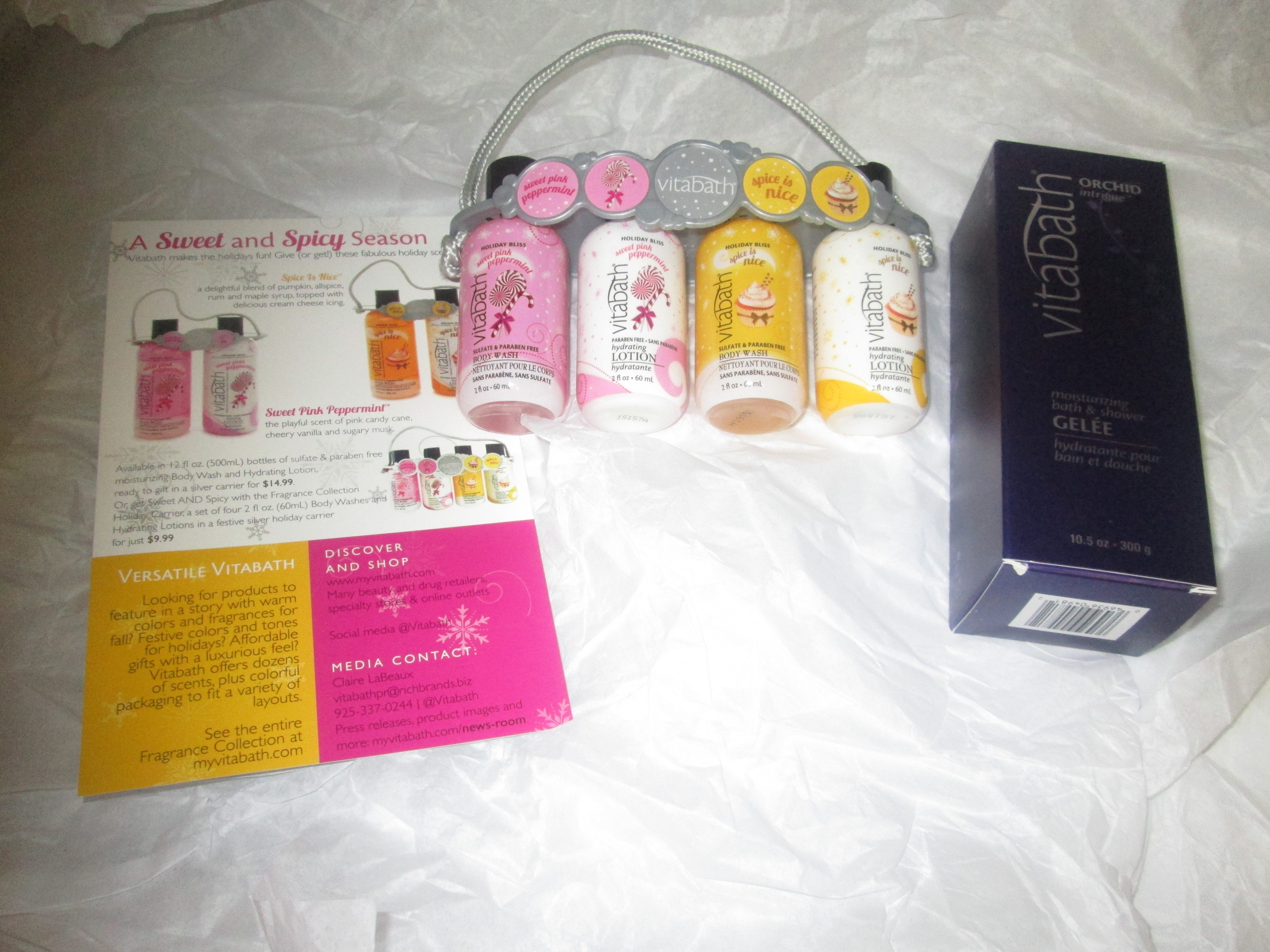 Vitabath Products - BB Product Reviews