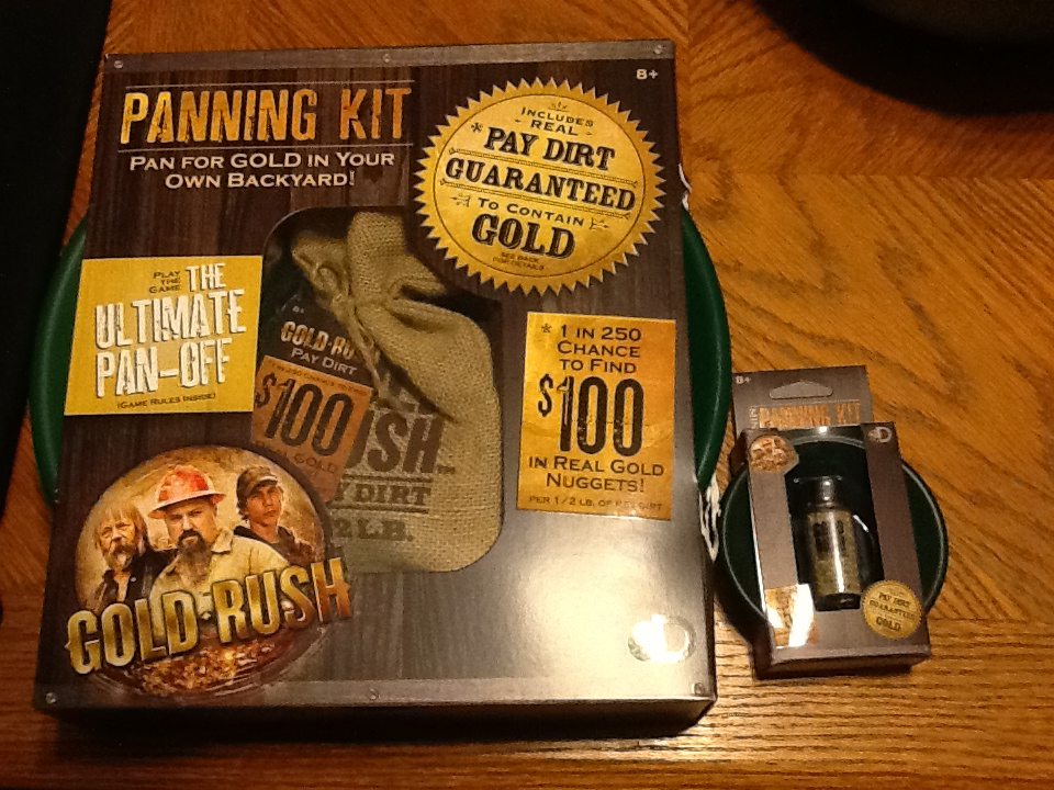 Gold Rush     what will we find? - BB Product Reviews
