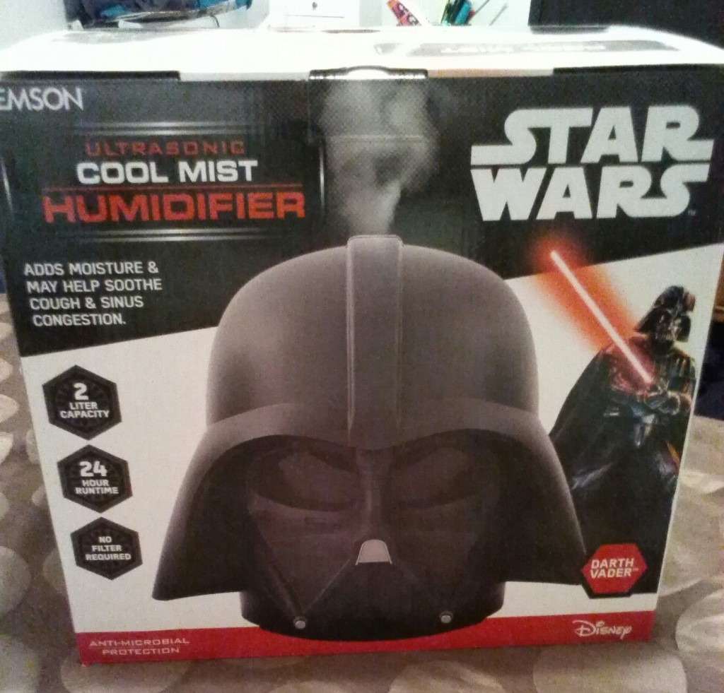Star Wars Darth Vader 2 Liter Ultrasonic Cool Mist