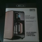 Bella Dots Collection 2.0 12-Cup Programmable Coffee Maker