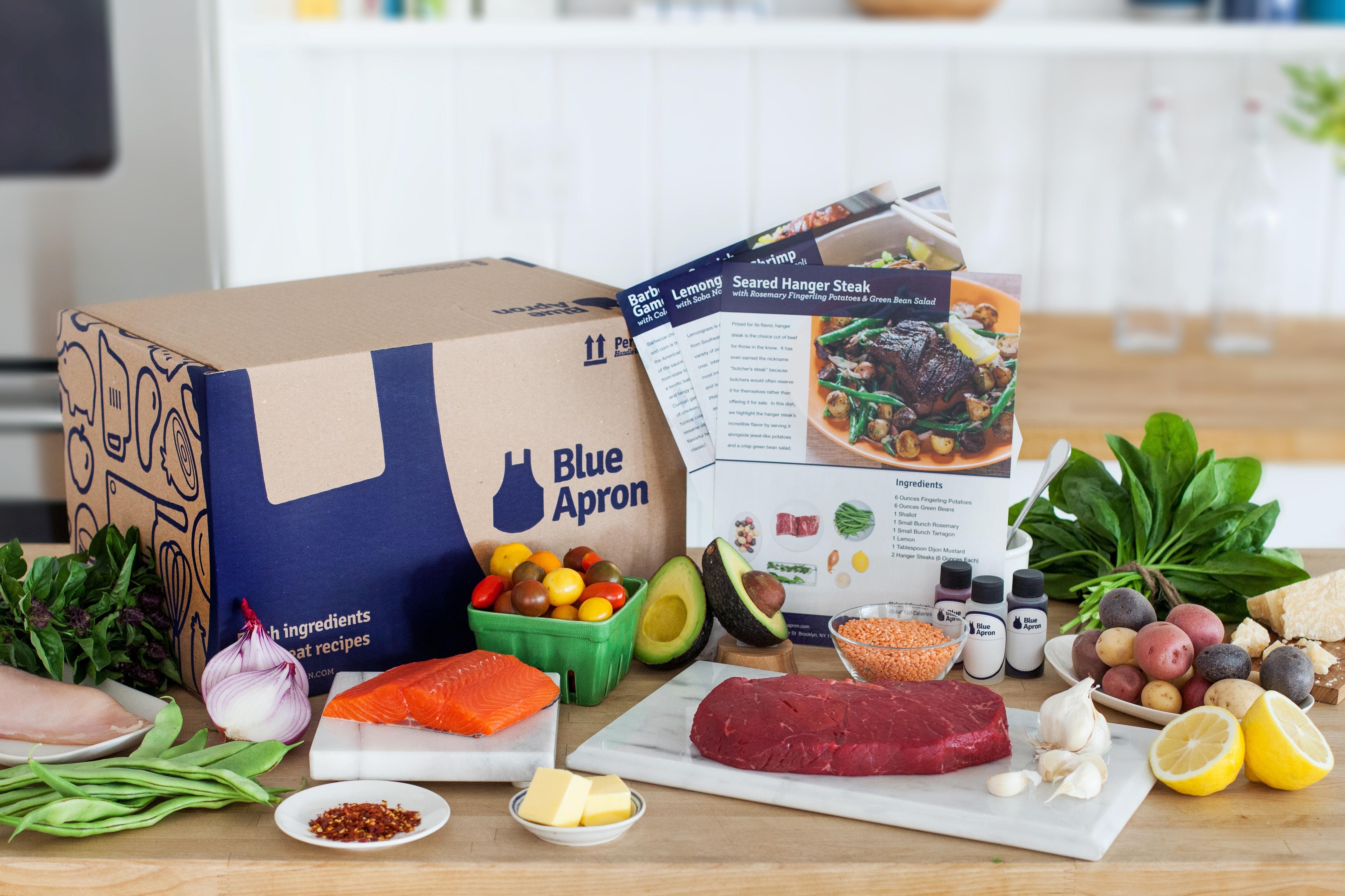 Blue apron reviews - Blue Apron Product Shot