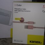 KANEX MULTI-SYNC KEYBOARD & CHARGESYNC CABLE W/ LIGHTNING CONNECTOR