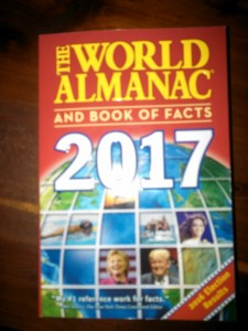 2017 WORLD ALMANAC AND BOOK OF FACTS