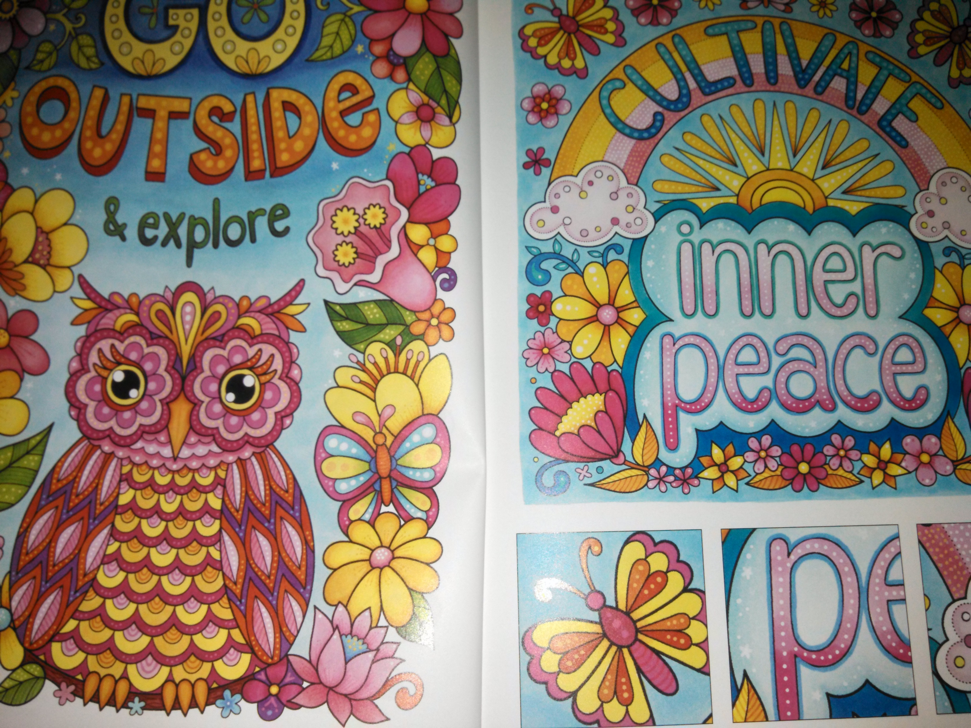 More Good Vibes Coloring Book Today I Choose Joy Review