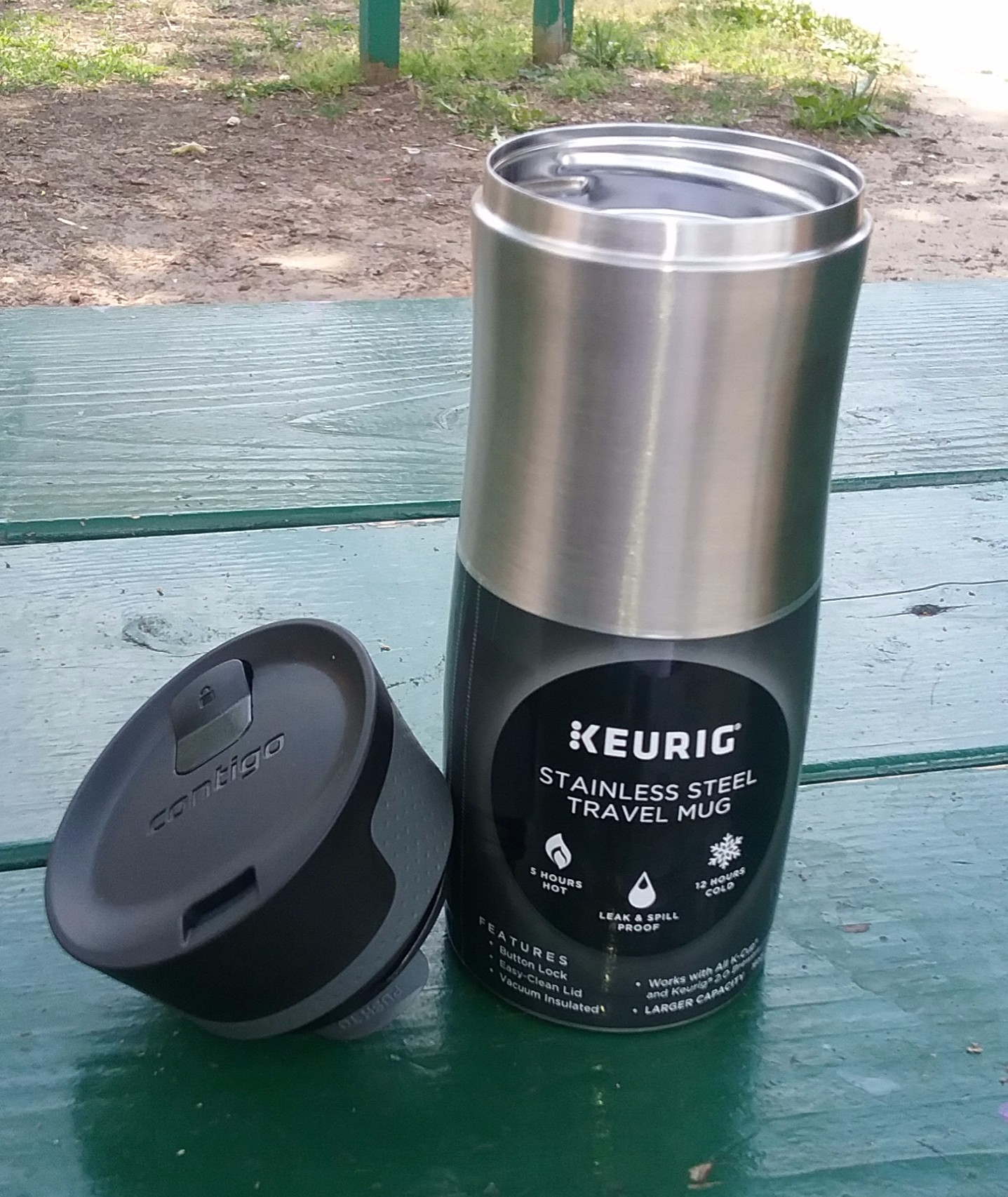 Keurig Contigo Travel Mug Review