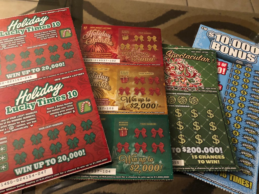 Fun & Easy Holiday Gifts Using NJ Lottery Instant Win ...