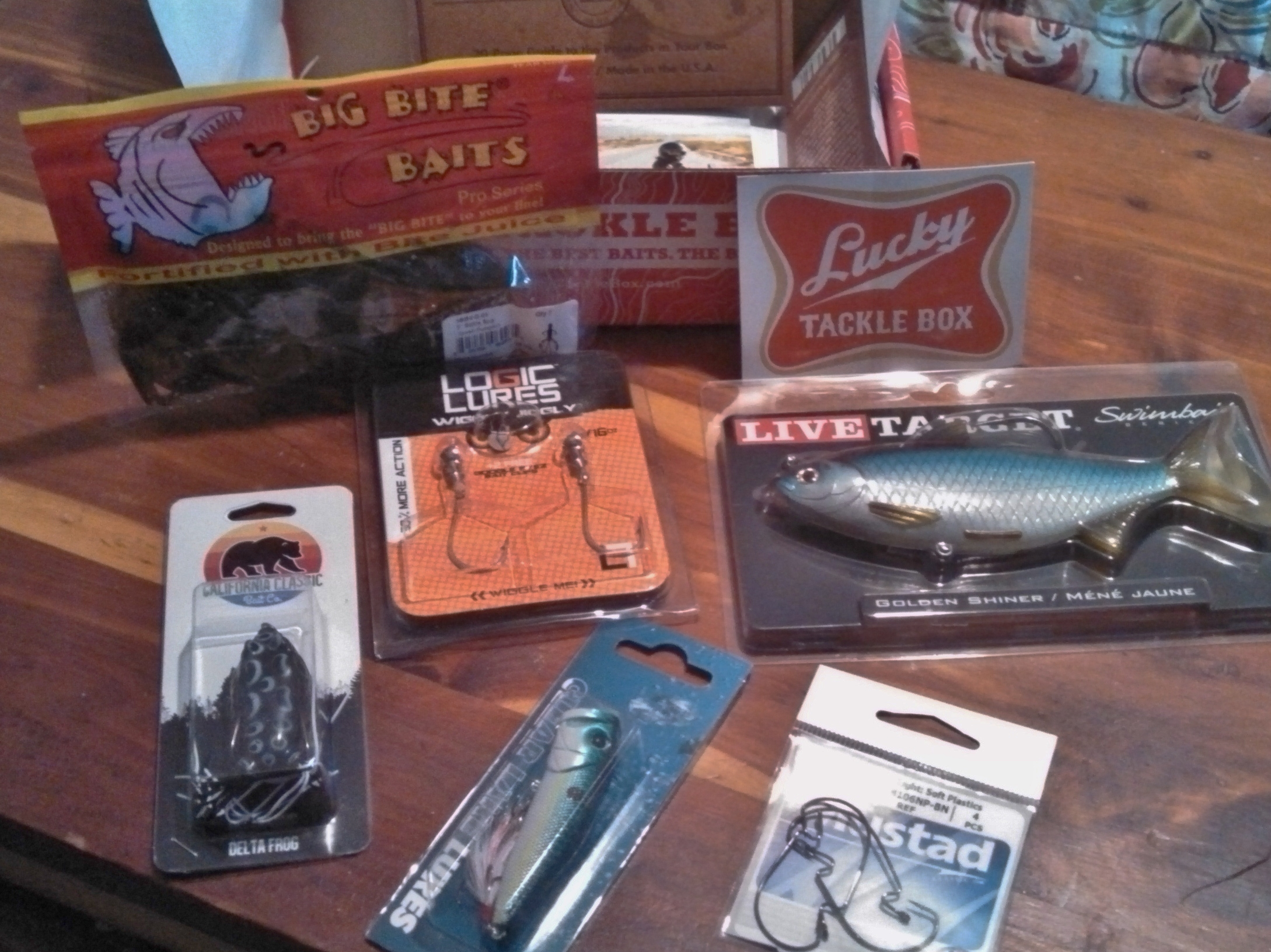 Lucky Tackle Box Monthly Subscription Review - BB Product Reviews