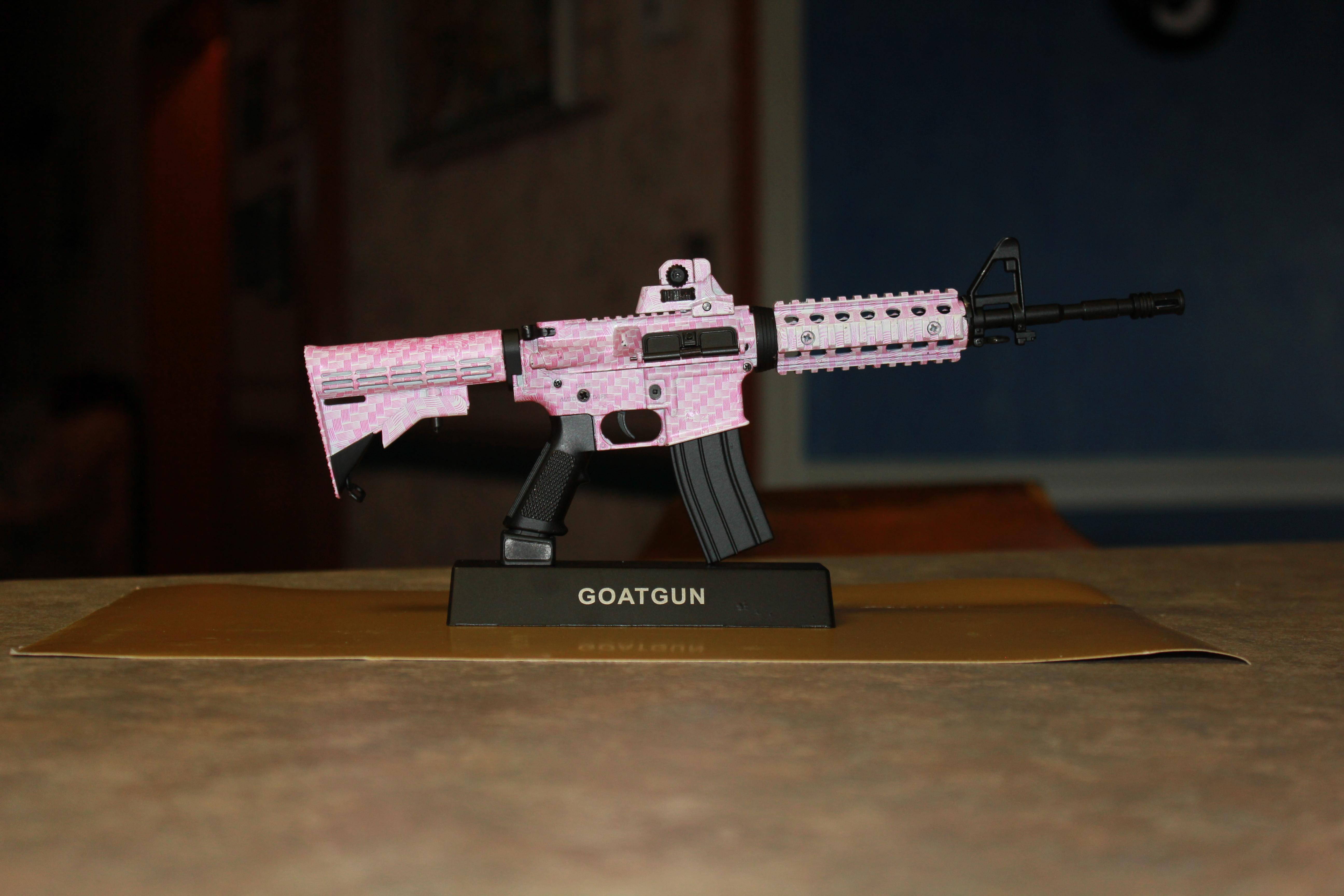Goat Guns Miniature Replica Guns Review - BB Product Reviews