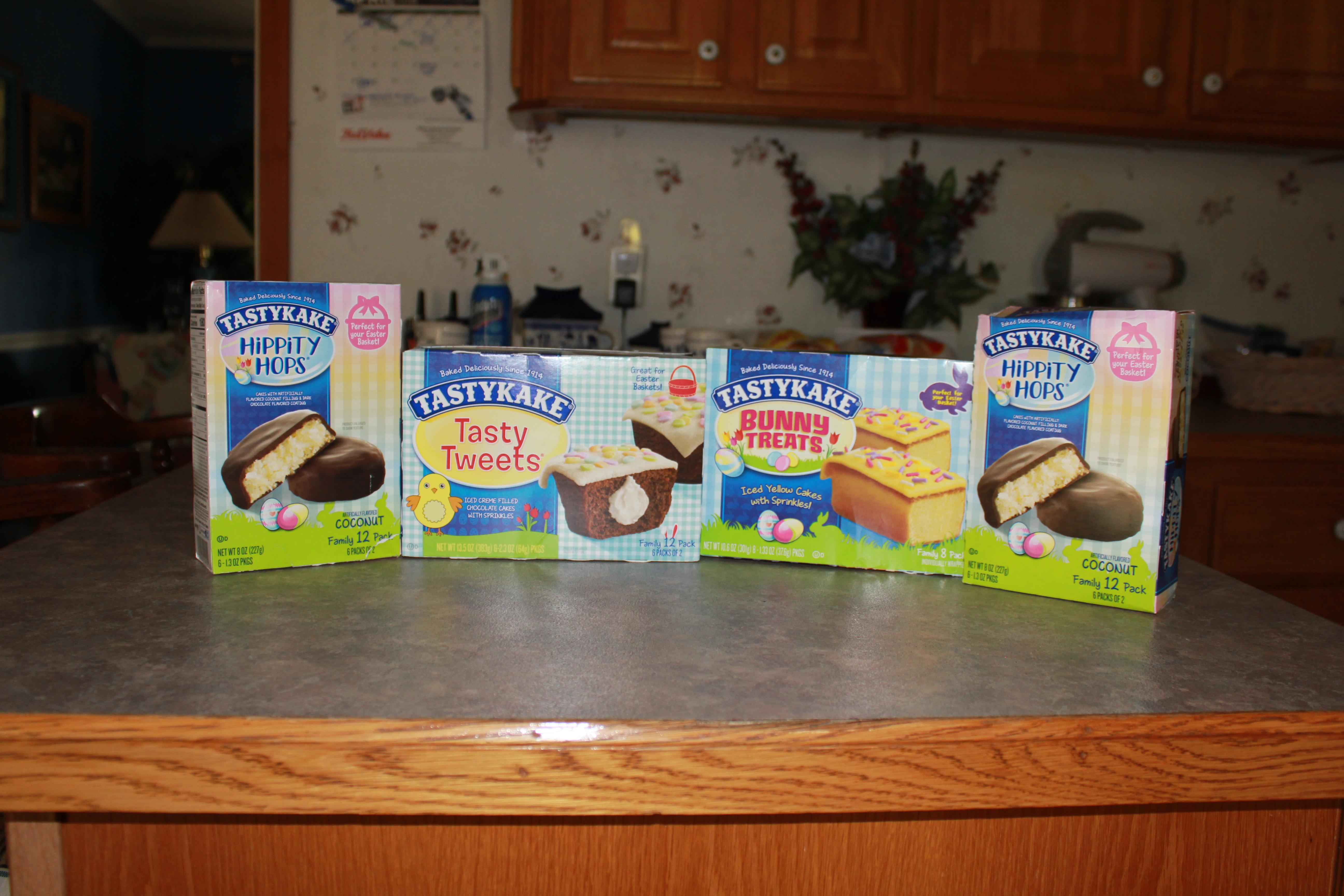 Tastykake Easter Snacks Review - BB