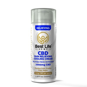 Buy-CBD-Oil-Online-Best-Life-Hemp-Pain-Relieving-Cooling-Cream-2000mg-front