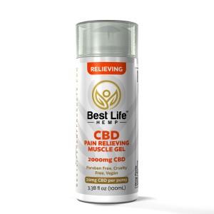 Buy-CBD-Oil-Online-Best-Life-Hemp-Pain-Relieving-Muscle-Gel-2000mg-front