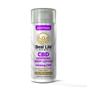 Buy-CBD-Oil-Online-Best-Life-Hemp-Soothing-Body-Lotion-1000mg-front